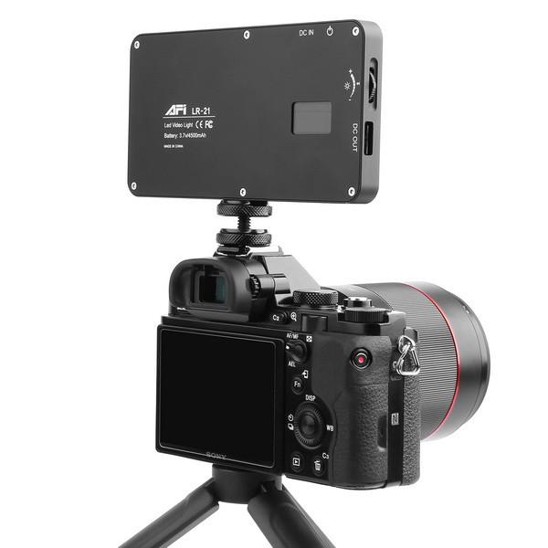 AFI LR-21 задня панель на камері