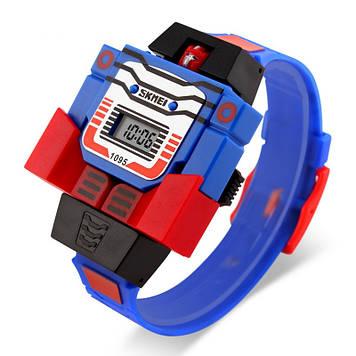 Детские часы Skmei 1095 синие