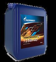 Масло моторные всесезонные универсальные Gazpromneft  Turbo Universal 15W-40