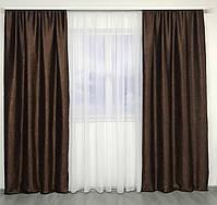 Штори в спальню кімнату квартиру Блекаут, штори блекаут софт для залу спальні кімнати передпокою, красиві штори для спальні кухні, фото 3