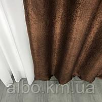Штори в спальню кімнату квартиру Блекаут, штори блекаут софт для залу спальні кімнати передпокою, красиві штори для спальні кухні, фото 2
