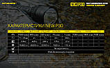 Тактический ручной фонарь NITECORE P30 NEW+usb NL2150R 21700*5000mAh (1000LM, Cree XP-L HI V3, IPX8), Комплект, фото 8