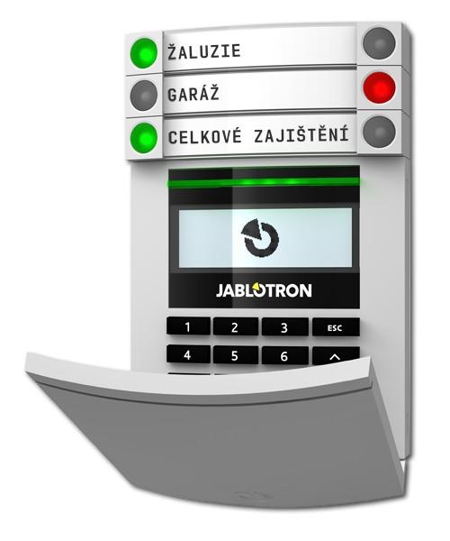 JA-114E модуль доступа (панель управления) с RFID считывателем, ЖК дисплеем и клавиатурой