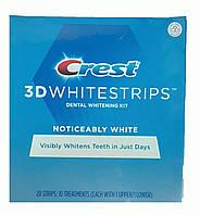 Crest 3D White отбеливающие полоски для зубов (20 шт)