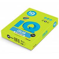 Бумага А4 IQ LG46 Lime Green (лимонно-зеленый)-1030316