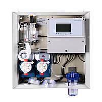 Панель управления дозацией Aquaviva K800 Kontrol pH-Cl-t° в сборе, фото 1
