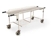 Тележка ТПБс для перевозки больных со съемными носилками ТМ Омега