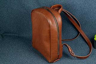 Жіночий шкіряний рюкзак Анталія, натуральна Шкіра італійський Краст колір Коричневий, фото 3
