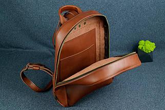 Жіночий шкіряний рюкзак Анталія, натуральна Шкіра італійський Краст колір Коричневий, фото 2