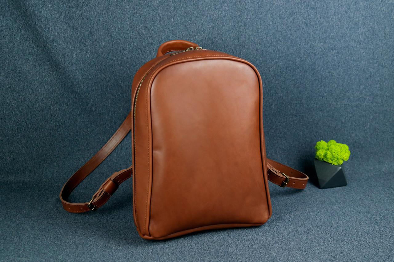 Жіночий шкіряний рюкзак Анталія, натуральна Шкіра італійський Краст колір Коричневий