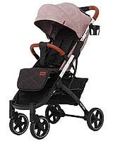 Коляска прогулочная CARRELLO Astra CRL-5505 Apricot Pink +дождевик