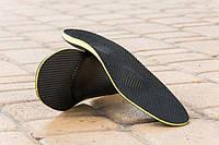 Ортопедические стельки Премиум-класса с пяточным амортизатором OrtoMed OMP-262 мужские