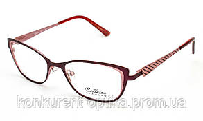 Женские овальные металлические очки Bellessa 110241