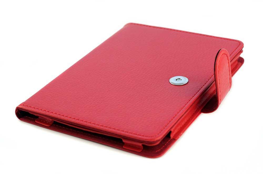 червона обкладинка для Покетбук 614 з лямкою