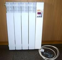 Бытовой электрорадиатор ЕРП-4 0,5 кВт с электронным термостатом, фото 1