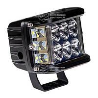 Фара LED прямоугольная 60W (12 диодов) (луч 180 `С). Гарантия 1 год!