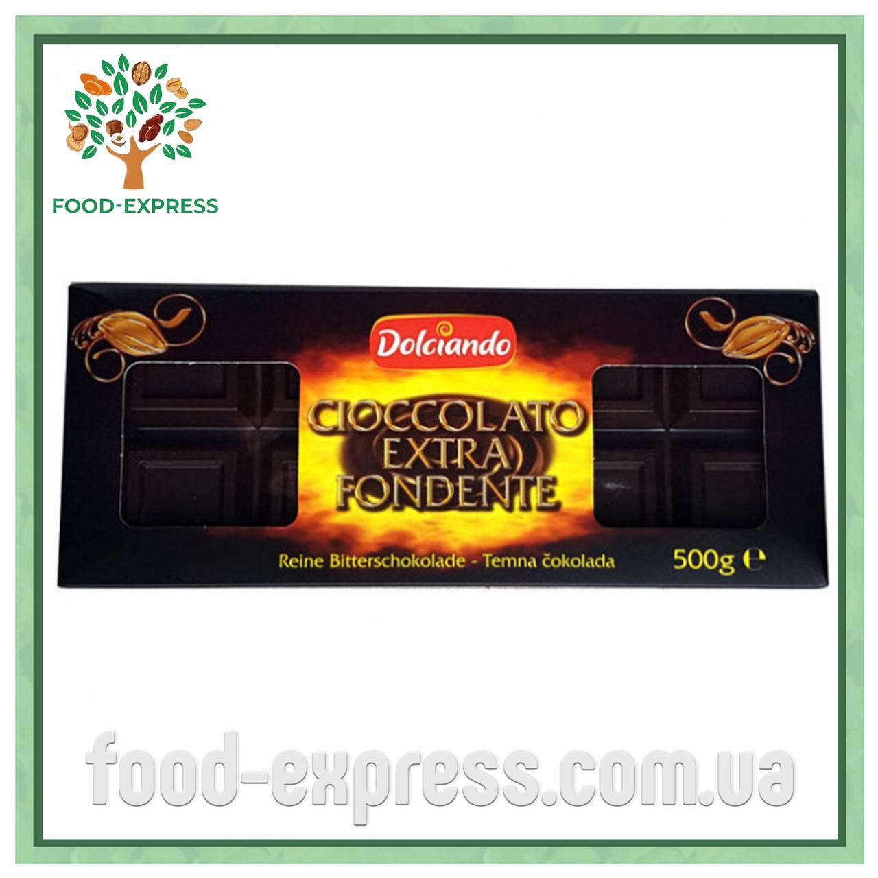 Шоколад Dolciando Cioccolato Extra Fondente 500г