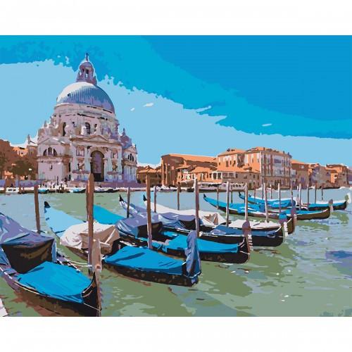 Набор в коробке, картина по номерам Венецианский пейзаж, 40*50 см., SANTI 953896