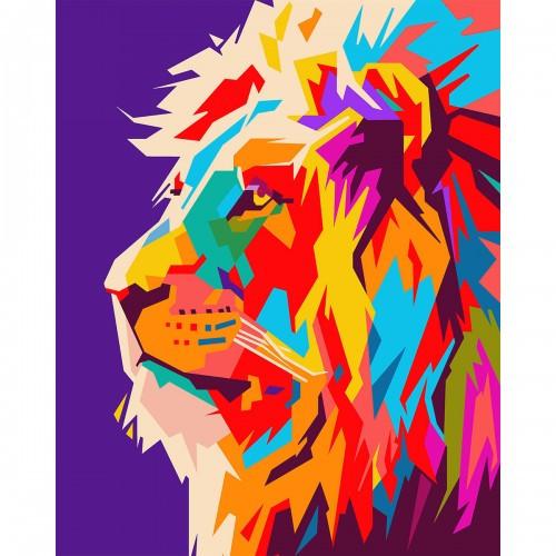 Набор, картина по номерам Непобедимый, 40*50 см., SANTI 953843