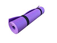 Коврик для фитнеса, спорта, танцев, туризма Naprolom М, фиолетовый