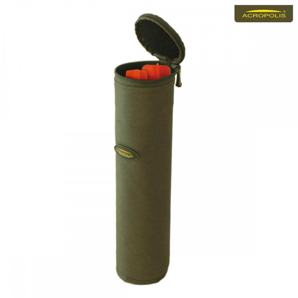 Жесткий тубус Акрополис ЧТМ-1 для хранения карповых маркеров