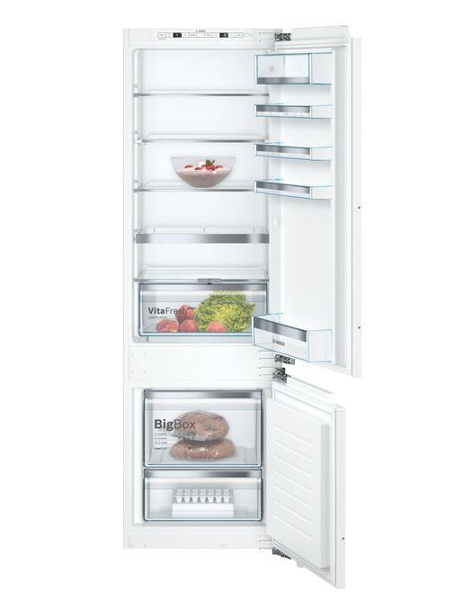 Встраиваемый холодильник с морозильником  Bosch KIS87AFE0