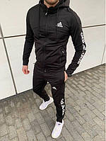 Спортивний костюм мужской Adidas черний