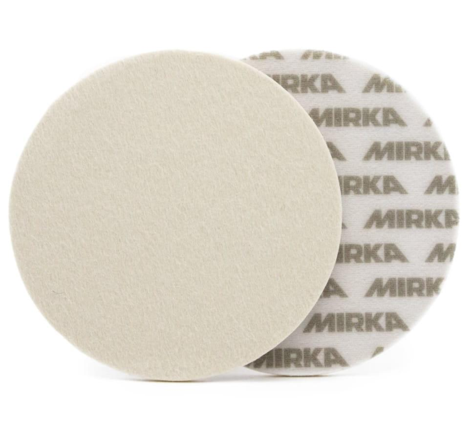 Полировальный круг для стекла Mirka фетровый грубый Ø125 мм