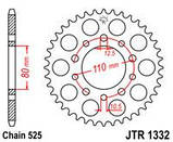 Звезда задняя стальная  JT JTR1332.43 JT Sprockets, фото 2
