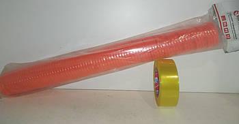 Шланг подкачки (воздушный) полиуретан 6,0x8 мм (оранжевый) с быстросъемами длинна 20м