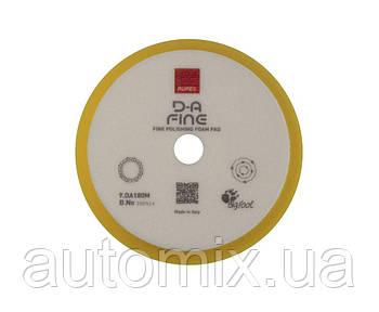 Полировальный круг Rupes D-A поролоновый средний Ø150/180 мм желтый