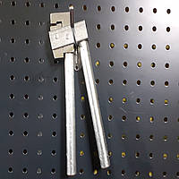 Кромкогиб ручной для сгибания листового металла высота кромки 2 мм отступ до кромки 8 мм KhZSO HMF0101