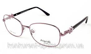 Стильная женская оправа металлическая Alanie A6887