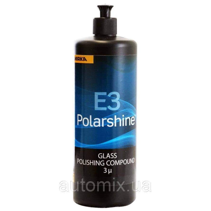 Полировальная паста Mirka Polarshine E3 для полировки стекла 1 л