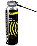 Універсальне мастило Multi spray 500мл PRO PITON
