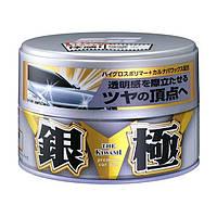 Воск SOFT99 Kiwami Extreme Gloss Wax Silver с глянцевым блеском для светлых автомобилей 200 г