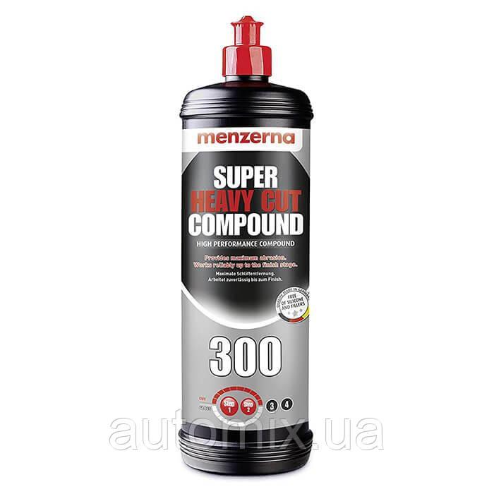 Полировальная паста Menzerna Super Heavy Cut 300 грубая 1 кг