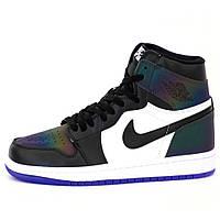 Мужские кроссовки Nike Air Jordan 1 Retro High OG All Star Chameleon, кроссовки найк аир джордан 1 хамелеон