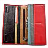 Женский кожаный кошелек Красный Кошелек премиум класса Современный качественный кошелек для девушки, фото 4