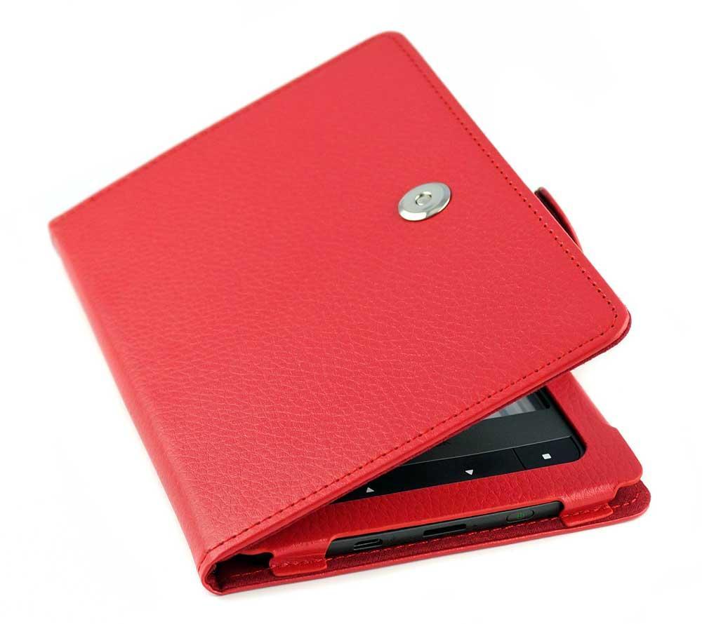 Обкладинка PocketBook 626/625/624/615 plus/Touch Lux 3 червона PU - чохол