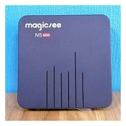 Медіаплеєр Magicsee N5 Max Android TV (S905X3/4GB/64GB) Black Презентаційна модель