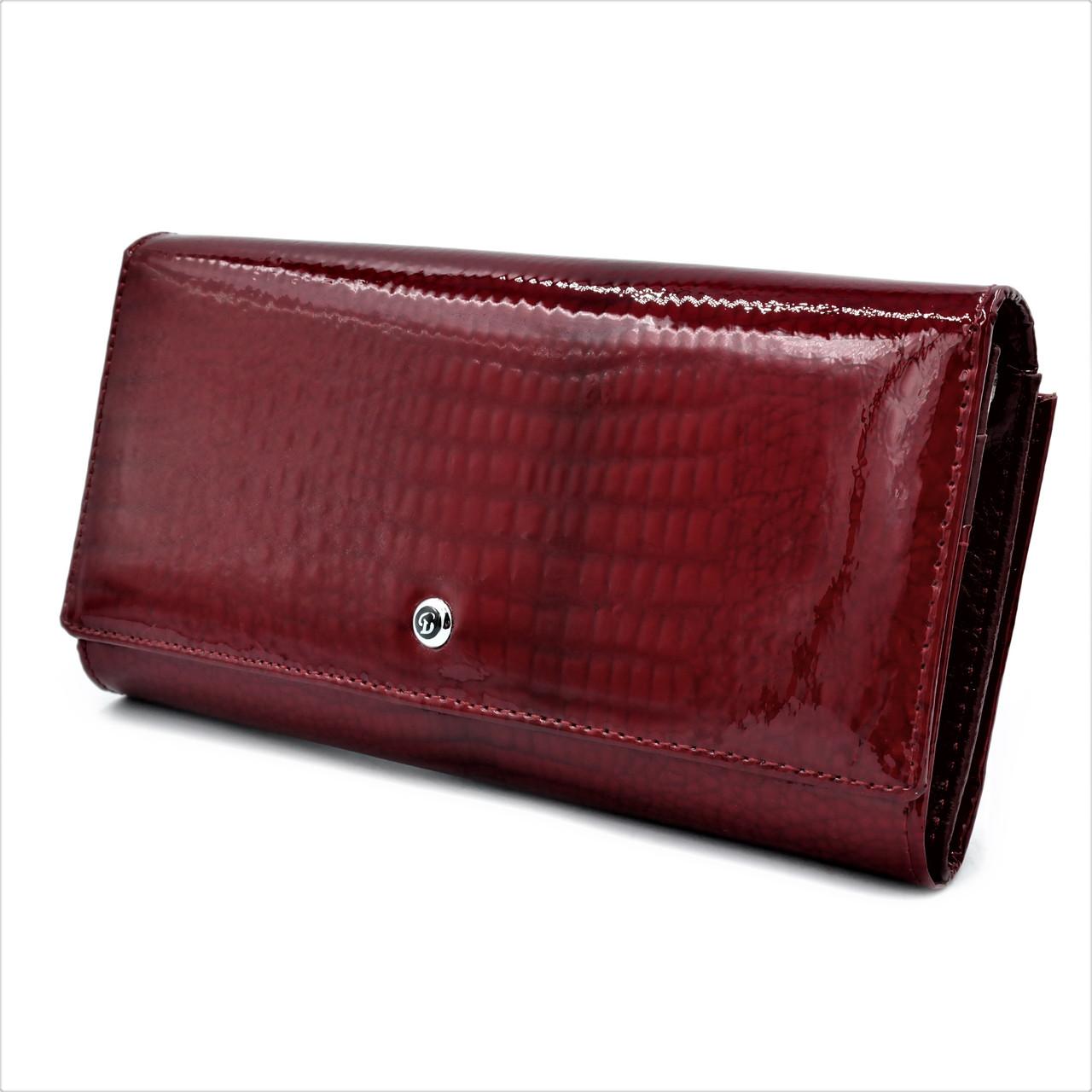 Жіночий шкіряний гаманець Weatro 1013A-B103-2 Червоний
