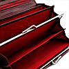 Жіночий шкіряний гаманець Weatro 1013A-B103-2 Червоний, фото 6