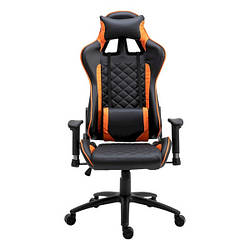Геймерське крісло FrimeCom Taro Black Orange (0000010508)