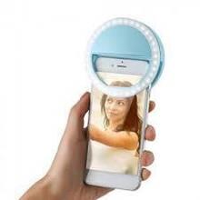 Світлодіодне селфи кільце Блакитне Selfie Ring Light
