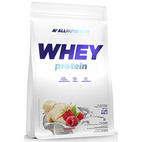 Whey Protein - 900g White Chocolate Raspberry