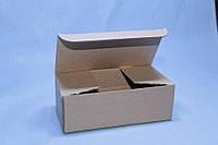 Коробка чотирикутна під мило 100*72*30 мм коричнева