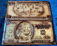 """Нарды """" 100 долларов """" подарочные"""