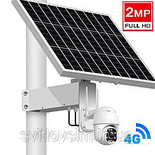 Автономні камери на сонячній батареї Wifi BAH-5X- 4G-S 5x Zoom 4G Camera