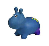 Прыгун резиновый G20153 Бегемот (Dark-Blue)